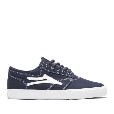 Lakai Griffin Canvas Skate Shoes - Navy
