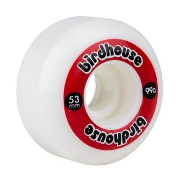 Birdhouse Logo Wheels Red - 53mm
