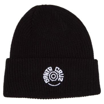 SANTA CRUZ Tortile Beanie Black