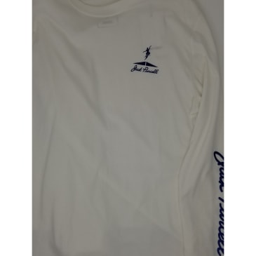 CONVERSE JACK PURCELL L/S TEE - WHITE