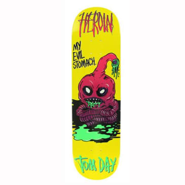 "Heroin Skateboards - 8.5"" Tom Day Evil Stomach Deck"