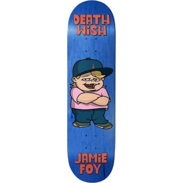 Deathwish Skateboards Jamie Foy Youngin Skateboard Deck - 8.25