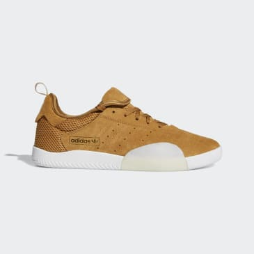 Adidas 3ST.003 Shoes - Mesa/Cloud White/Gold Met