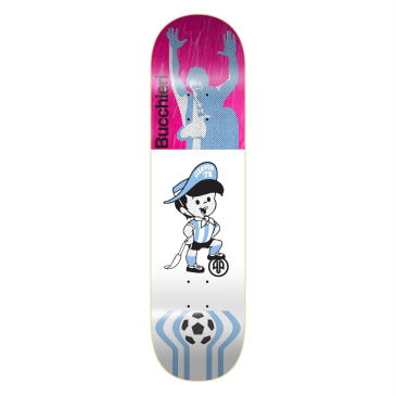 """Cleaver Skateboards - 8.0"""" Diego Bucchieri '78 Deck (Various Colours Available)"""