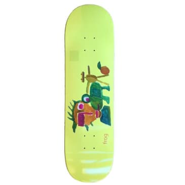 Frog Skateboards Painting Skateboard Deck - 8.6""