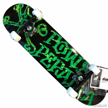 Powell Peralta Vato Rats Leaves Black 7.5 Complete