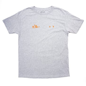 Isle Skateboards - Les Mis Tee Grey