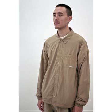 Nylon-Fleece Coaches Shirts Chino
