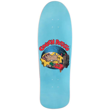 Call Me 917 Couch Potato Dad Skateboard Deck - 10""