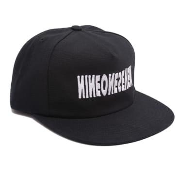 Call Me 917 Cyber Logotype Hat - Black