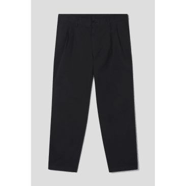 Stan Ray - Double Pleat Chino (Black Twill)