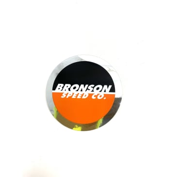 Bronson Bearings Speed Co. Circle Logo sticker 2.5""