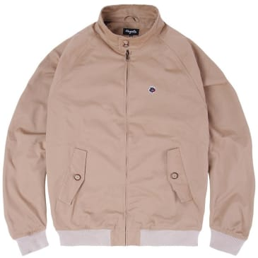 Magenta Skateboards Harrington Jacket - Beige