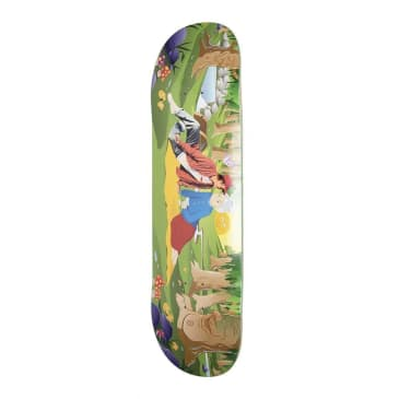 Alltimers Lovely Lady Skateboard Deck - 8.5""