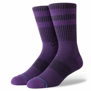 Stance Socks Crew Men's Joven Purple Large