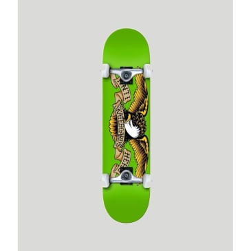 Anti Hero Classic Eagle Green LG Complete Skateboard 8.0""
