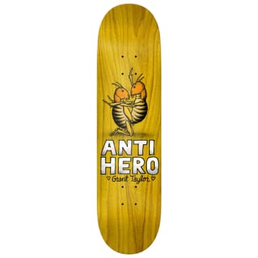 "Anti Hero Skateboards - 8.12"" Grant Taylor Lovers II Skateboard Deck - Various Wood Stains"
