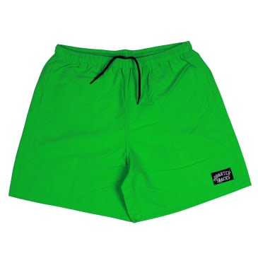 Quartersnacks Water Shorts Neon Lime