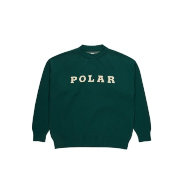 Polar Skate Co Polar Knit Sweater Dark Green