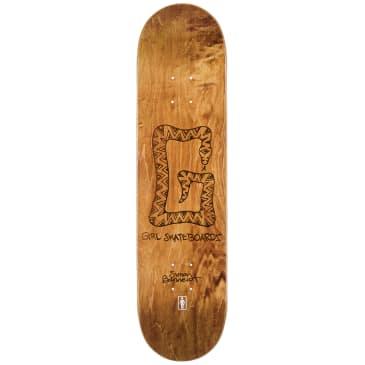 Girl G Snake Simon Bannerot Skateboard Deck size 8
