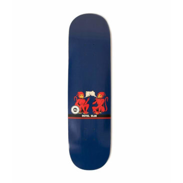 Hotel Blue Monkey Skateboard Deck - 8.25""