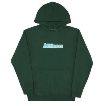 Alltimers Broadway Hood Dark Green