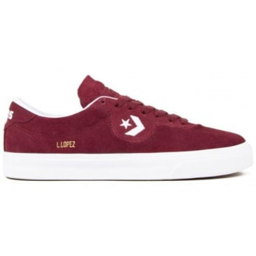 Cons Louie Lopez Pro Burgundy / White