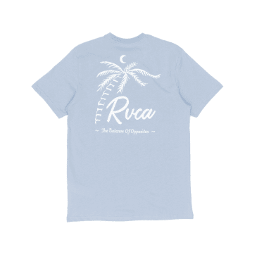RVCA Tropicale T-Shirt - Dusty Blue