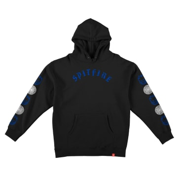 Spitfire Old E Combo Sleeve Youth Hoodie