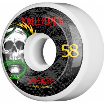 Powell Peralta McGill Skull and Snake Skateboard Wheels 58mm 103A