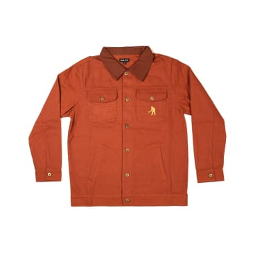 Pass~Port Skateboards - Workers Late Jacket - Brown