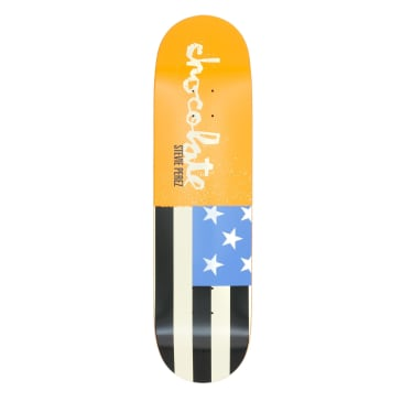 Chocolate Giant Flags Stevie Perez Deck - 8.375""