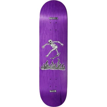 Baker Skateboards Theotis Beasley Cremation Mayhem Deck - 8.125