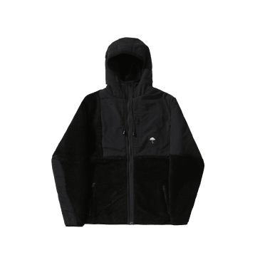 Hélas Moonlight Hooded Zip Jacket - Black
