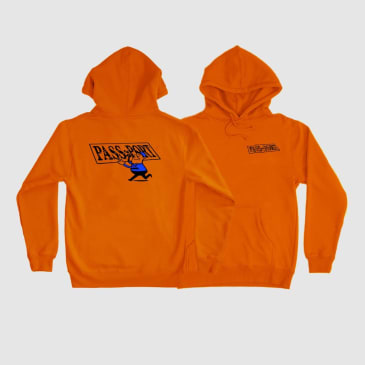 Pass~Port Mirror Man Hoodie - Orange