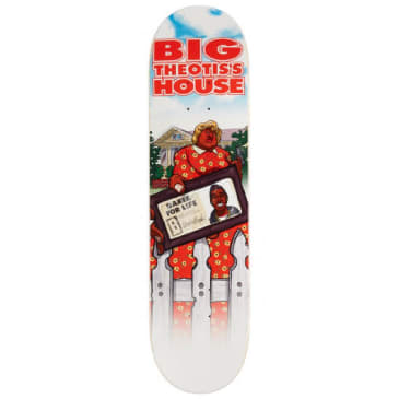 Baker Skateboards Theotis Beasley Theo's Big House Skateboard Deck - 8.00