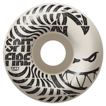 Spitfire Wheels - Spitfire Low Downs 99D Skateboard Wheels | White