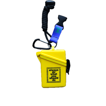 always do what you should do - yellow lanyard case