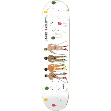 Enjoi Skateboards Louie Barletta Over Board Impact Light Skateboard Deck - 8.25