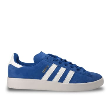 adidas Campus ADV Skate Shoes - Collegiate Royal / Cloud White/ Gold Metallic