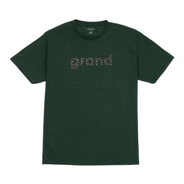 Grand Collection Flock Tee Green