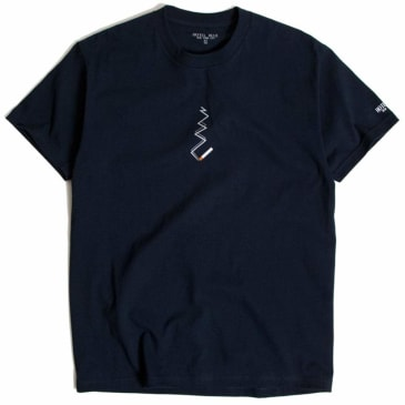 Hotel Blue Smoke T-Shirt - Navy