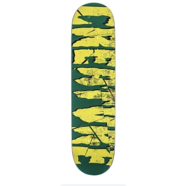 Creature Everslick Deck Shatter LG Black/Green 8.5 IN