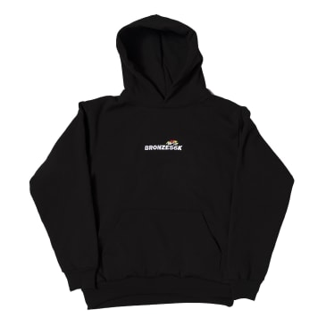 Bronze 56K Embroidered Speed Hoodie - Black