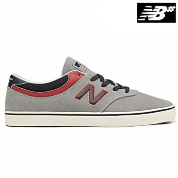 New Balance Quincy - Grey/Red/Navy