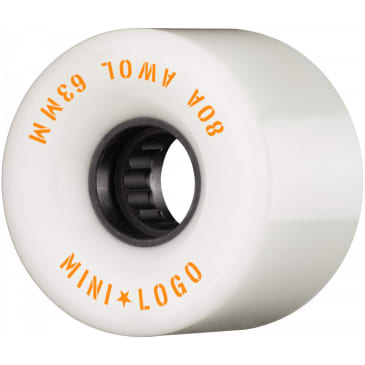 Mini Logo AWOL 63mm 80A Wheels (White)