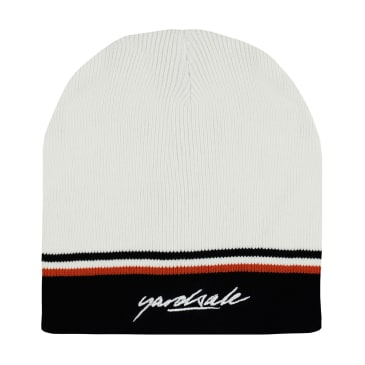 Yardsale Penny Beanie - Cream / Black
