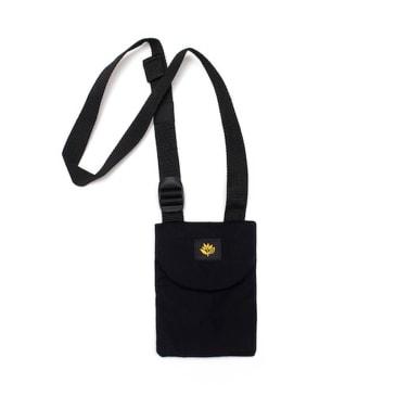 Magenta Pouch Bag - Black