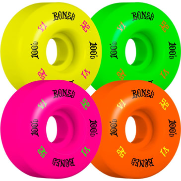 BONES 52mm 100's Party Pack Wheels