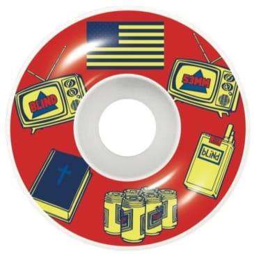 Blind American Icons 53mm Wheels